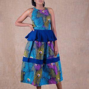 Fari Top and Skirt Set